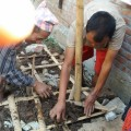 Training Masons on how to Construct Low Strength Masonry Building that would resist earthquake