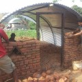 Constructing Temporary Shelters for Earthquake Victims at Tanahau District of Nepal