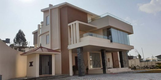 Residential Building after construction is completed in Budhalinkantha, Kathmandu